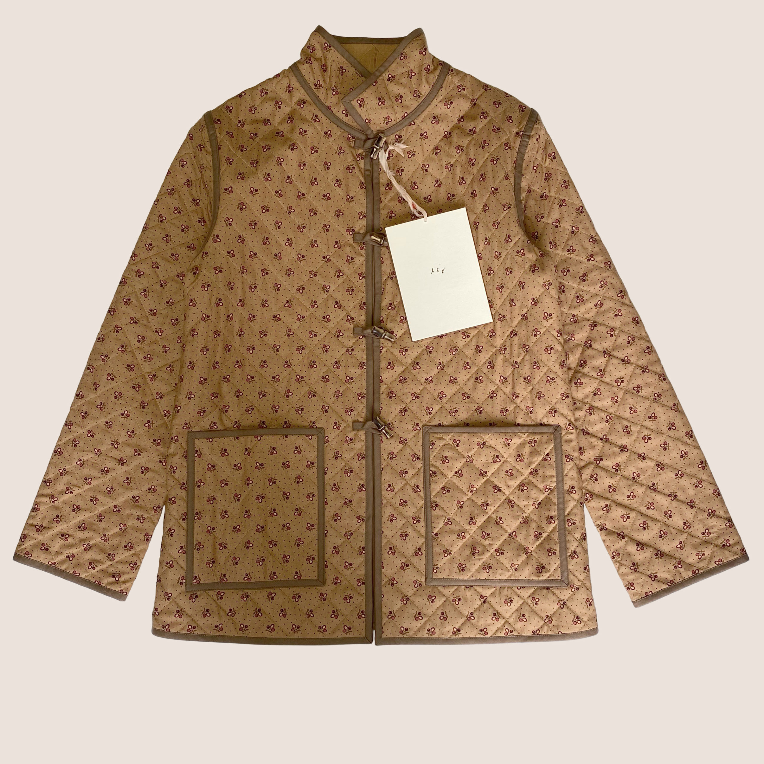 The Replica Quilt Jacket - Cherrywood