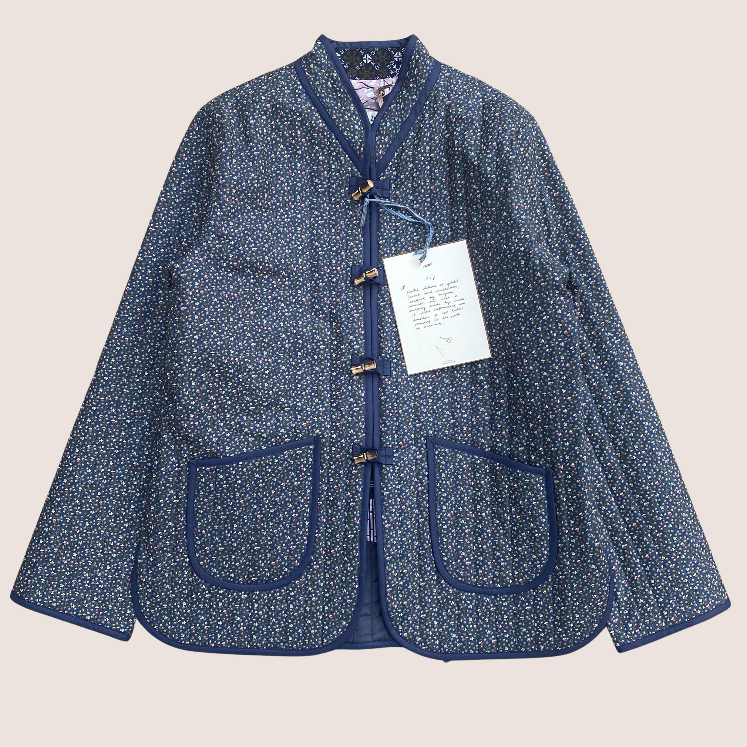 The Original Quilt Jacket - Petrol