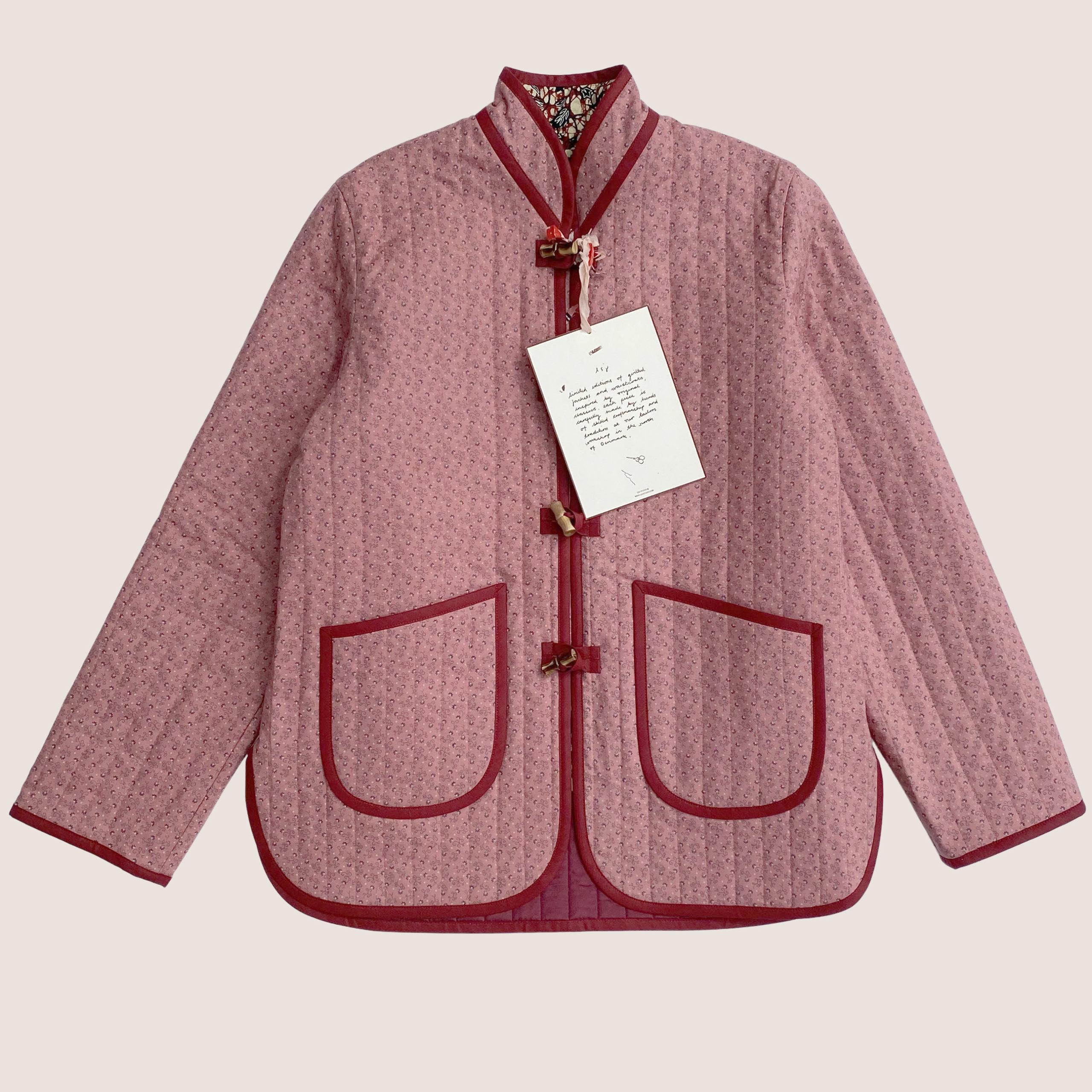 The Original Quilt Jacket - Rosewood