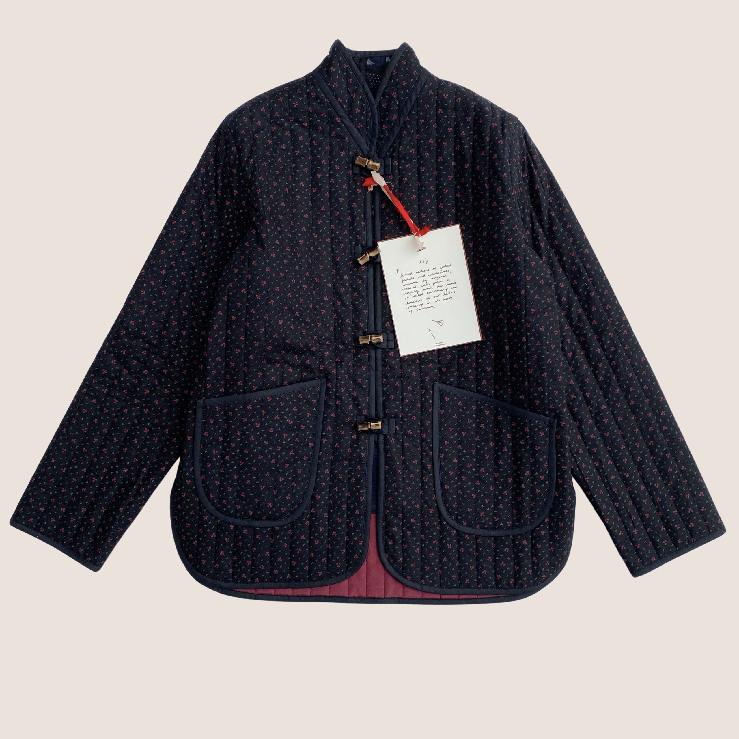 The Original Quilt Jacket - Rouge