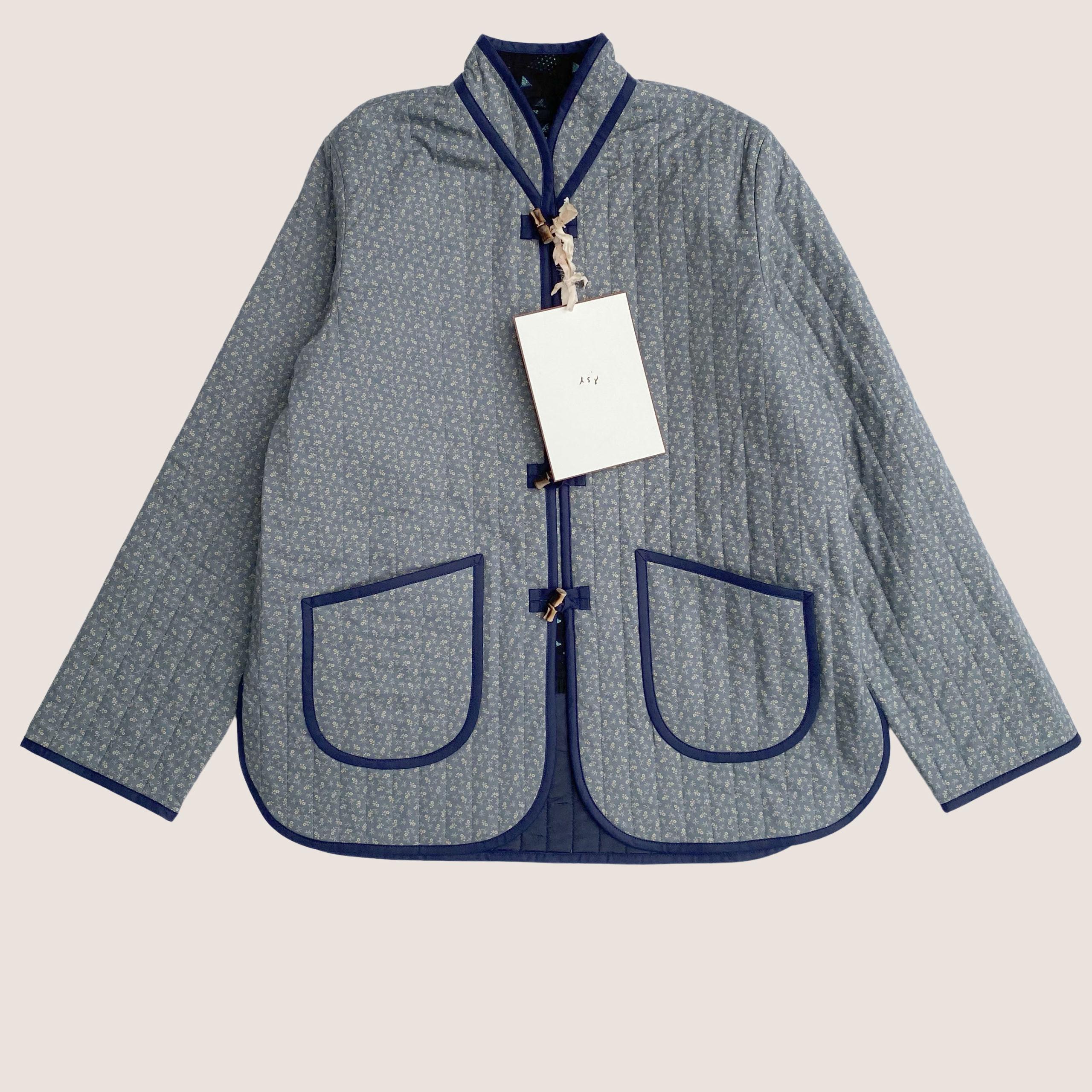 The Original Quilt Jacket - Stormy