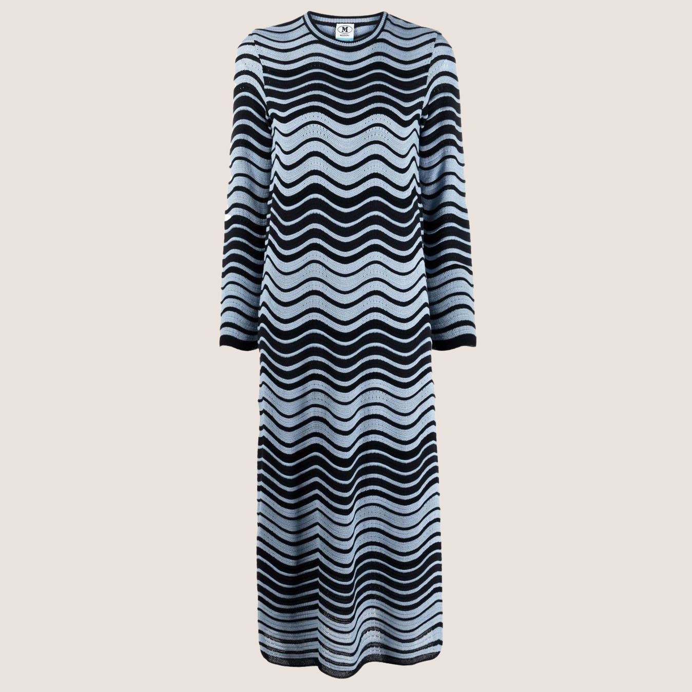 Zig-Zag Flared Dress