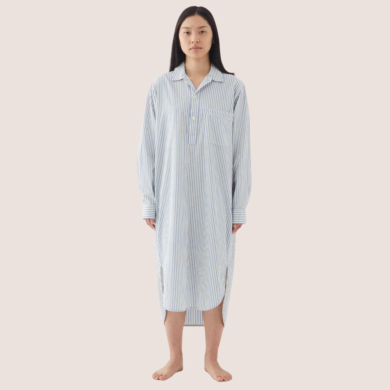 Poplin Night Shirt