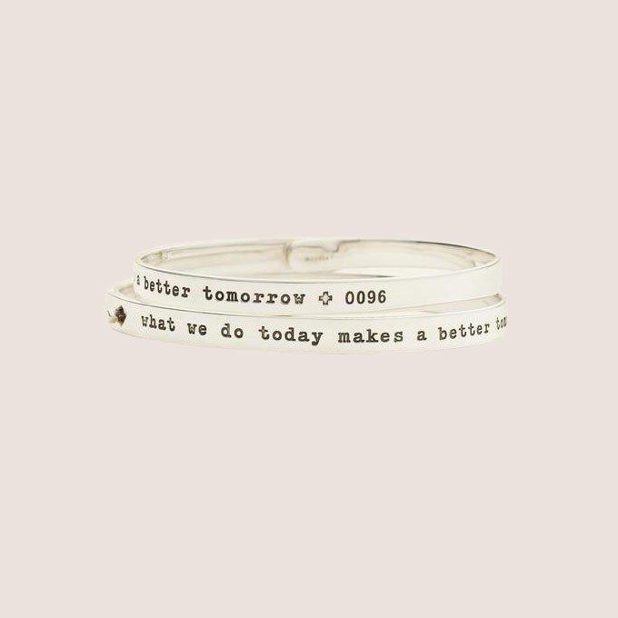 Red Cross Click Bracelet