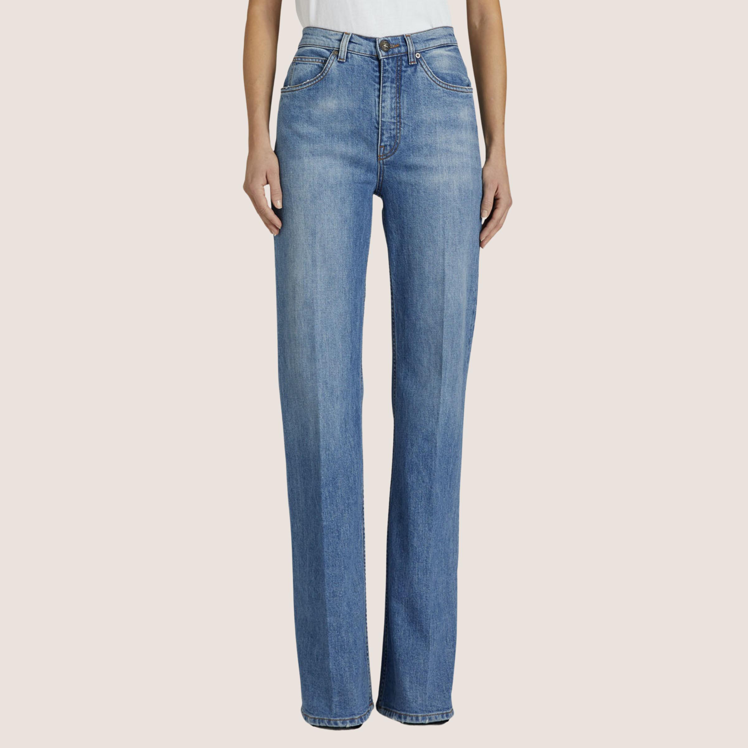 High Waist Flair Jeans