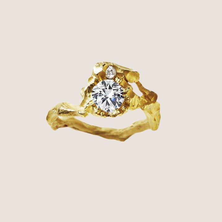Sun Diamond Ring