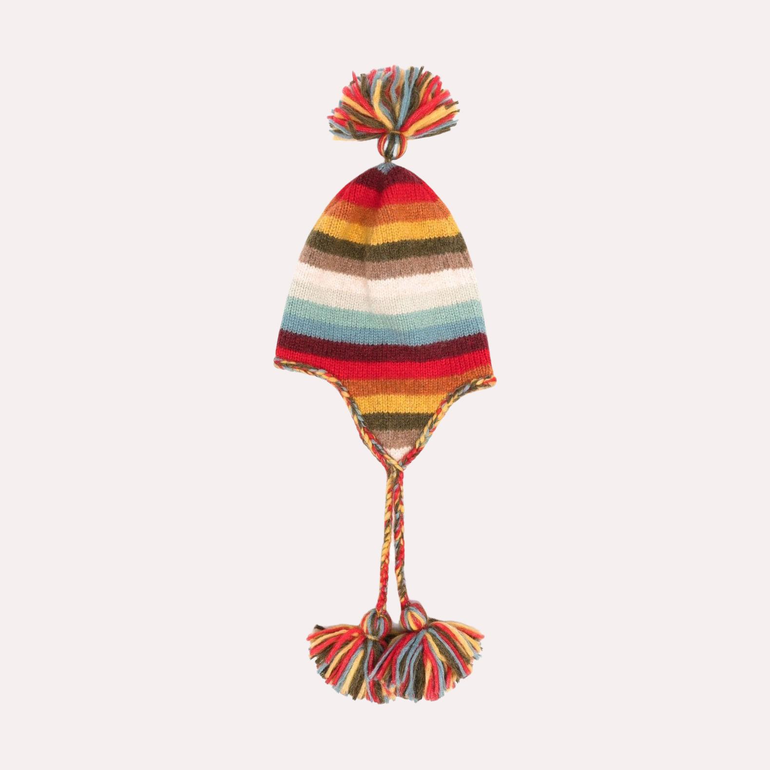 Rainbow Mountains Hat