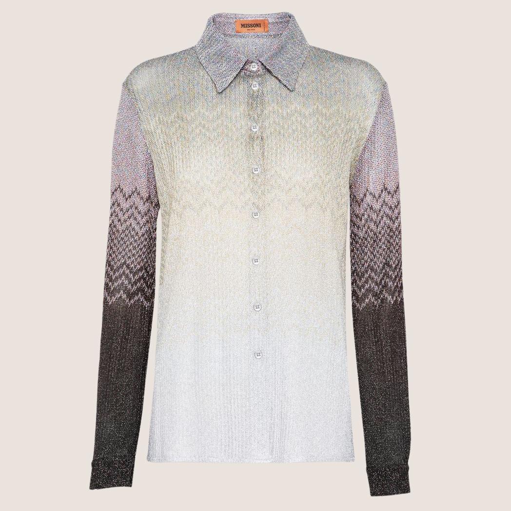 Long Sleeve Glitter Shirt
