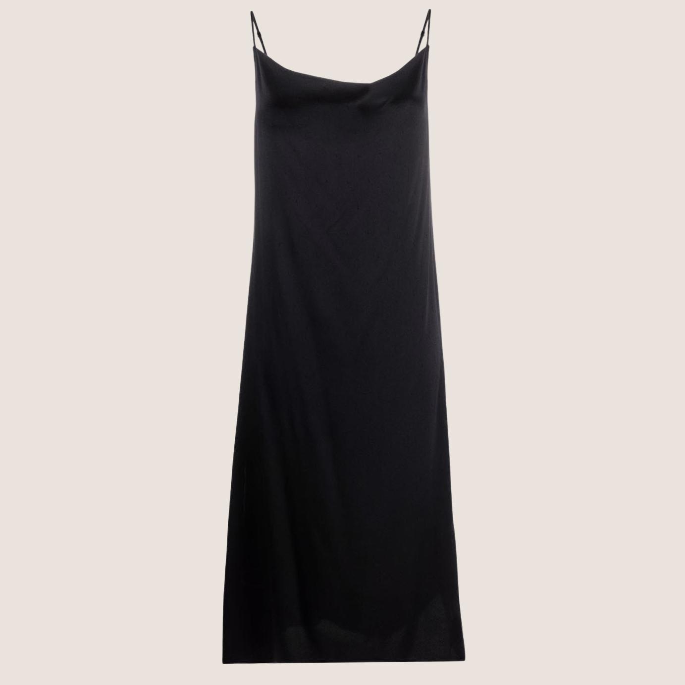 Silk Satin Slip Dress