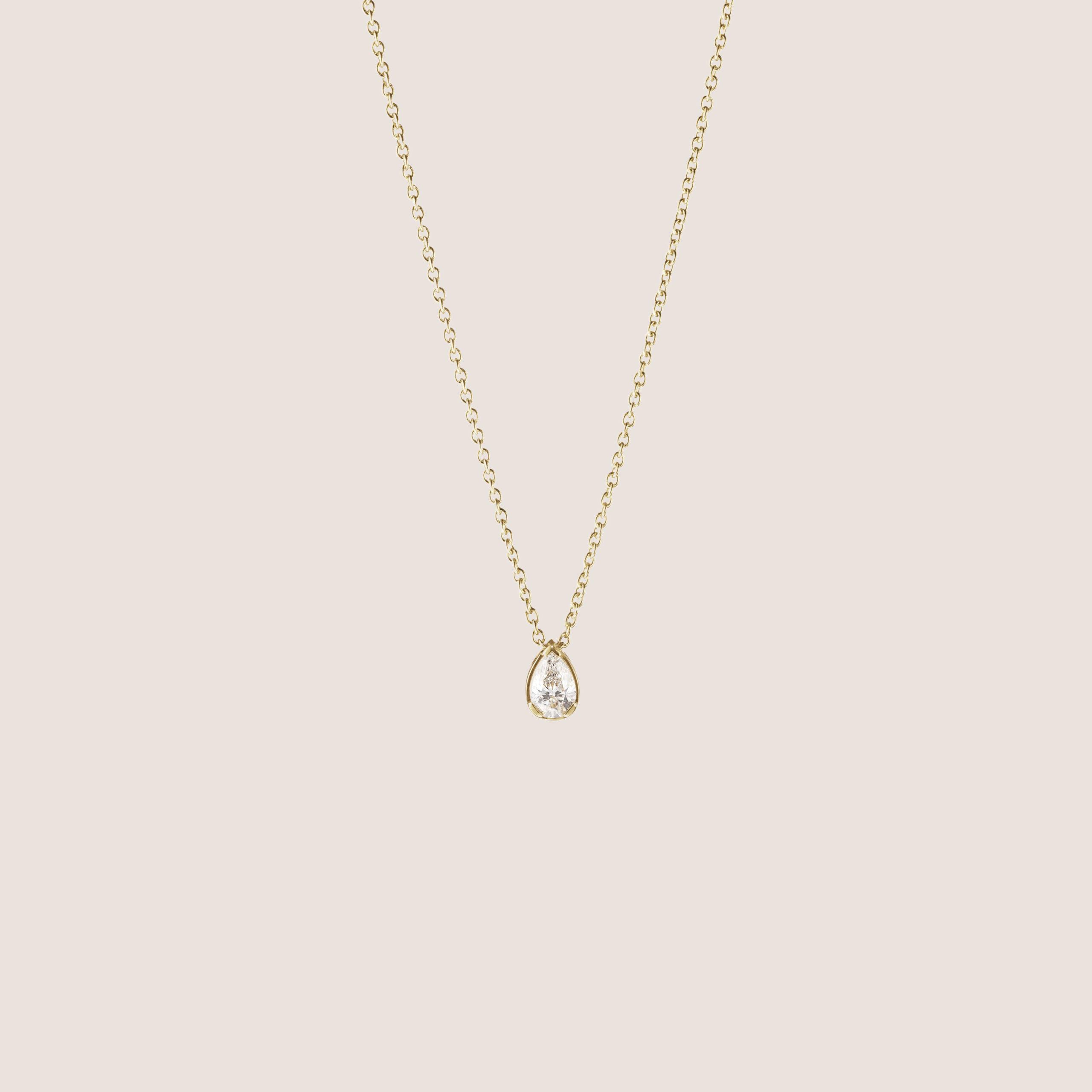 Goutte de Diamant Necklace