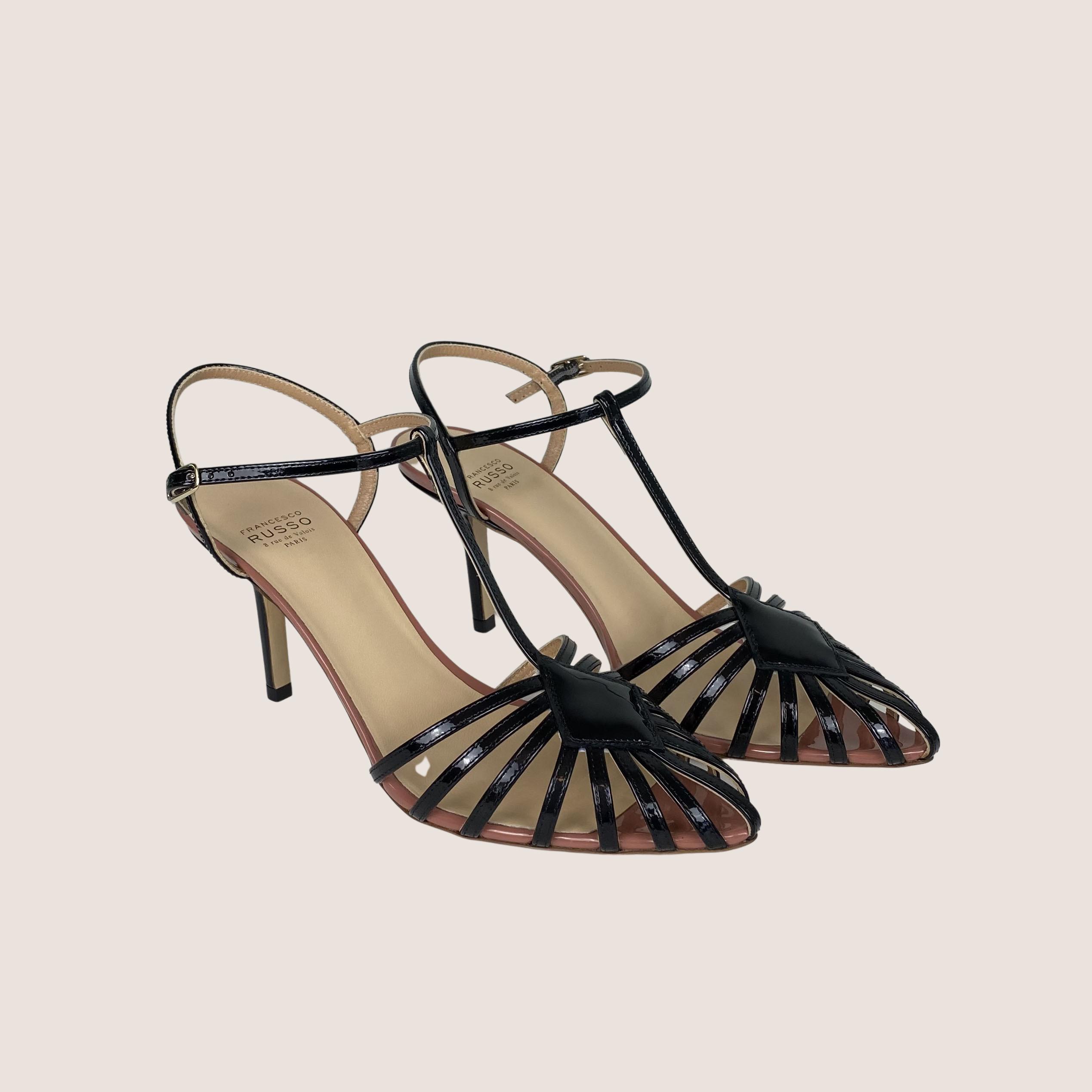 Strap High Heel Sandal
