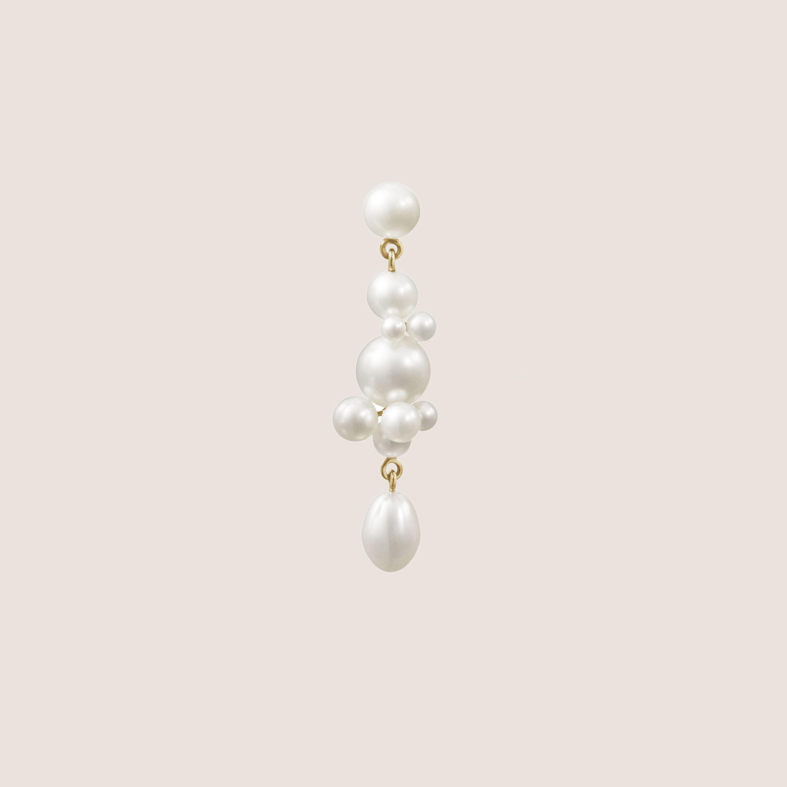 Petite Perle Splash Earring
