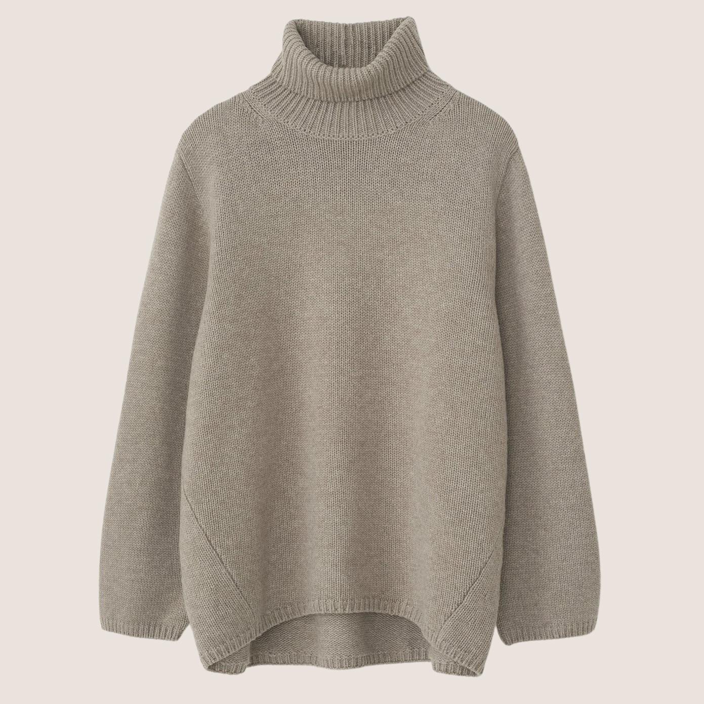 Wool Cashmere Turtleneck