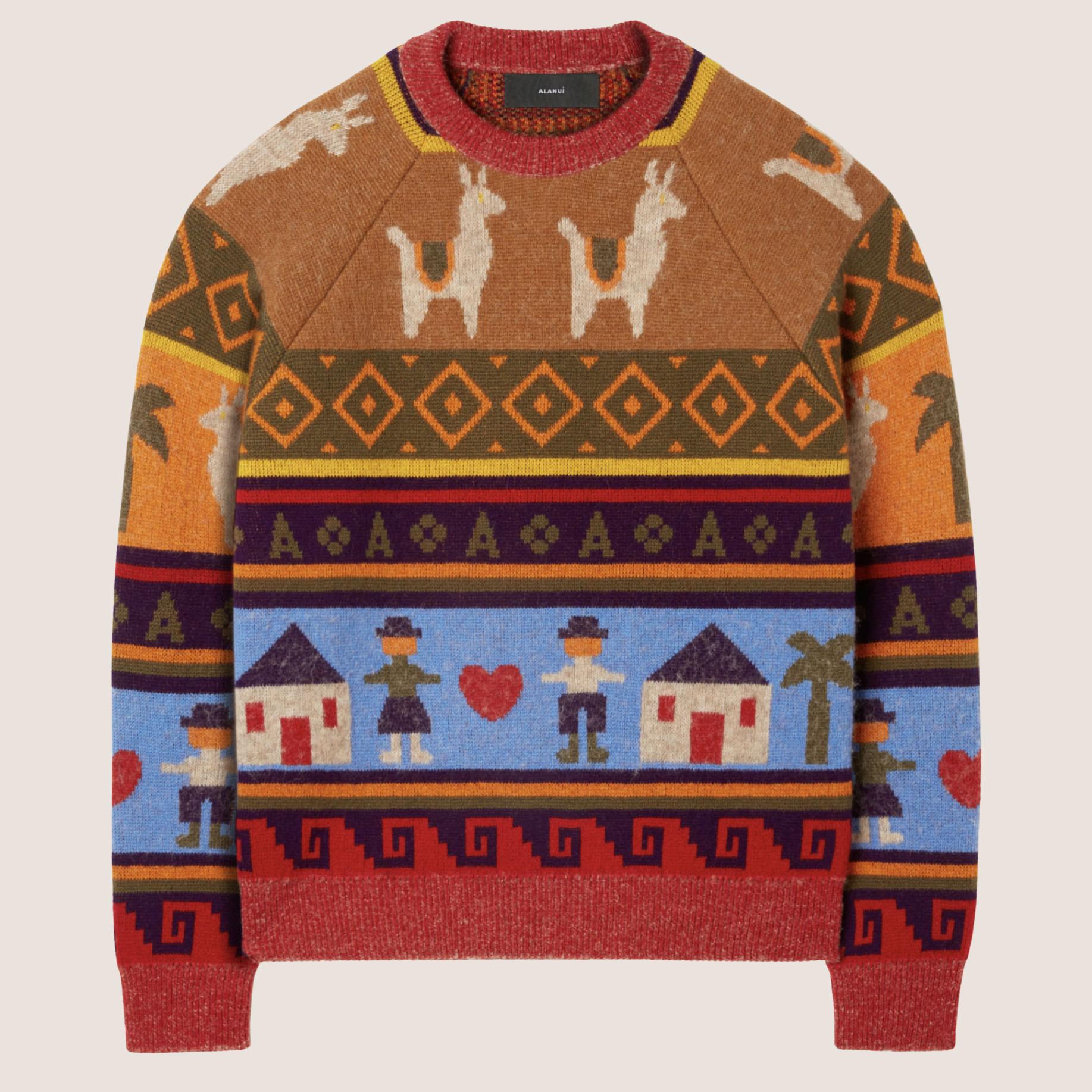 The Long Way To Ushuaia Sweater