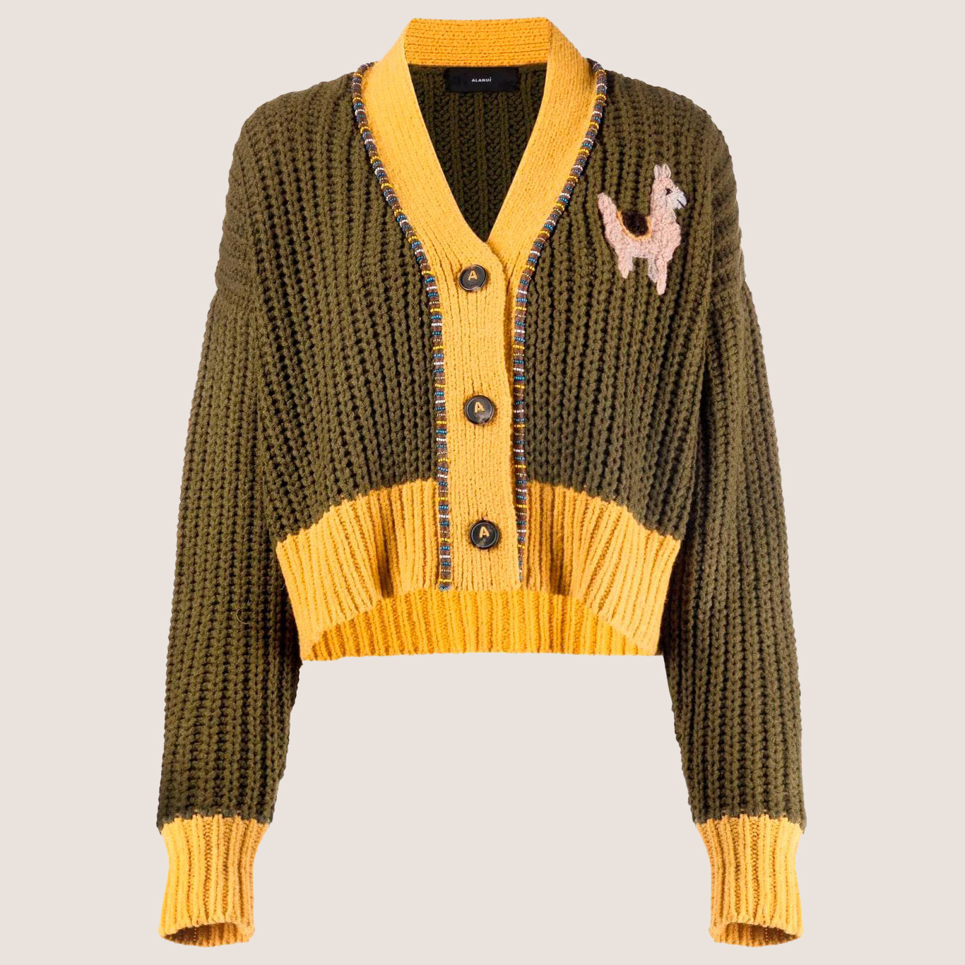 Pucon Cropped Cardigan