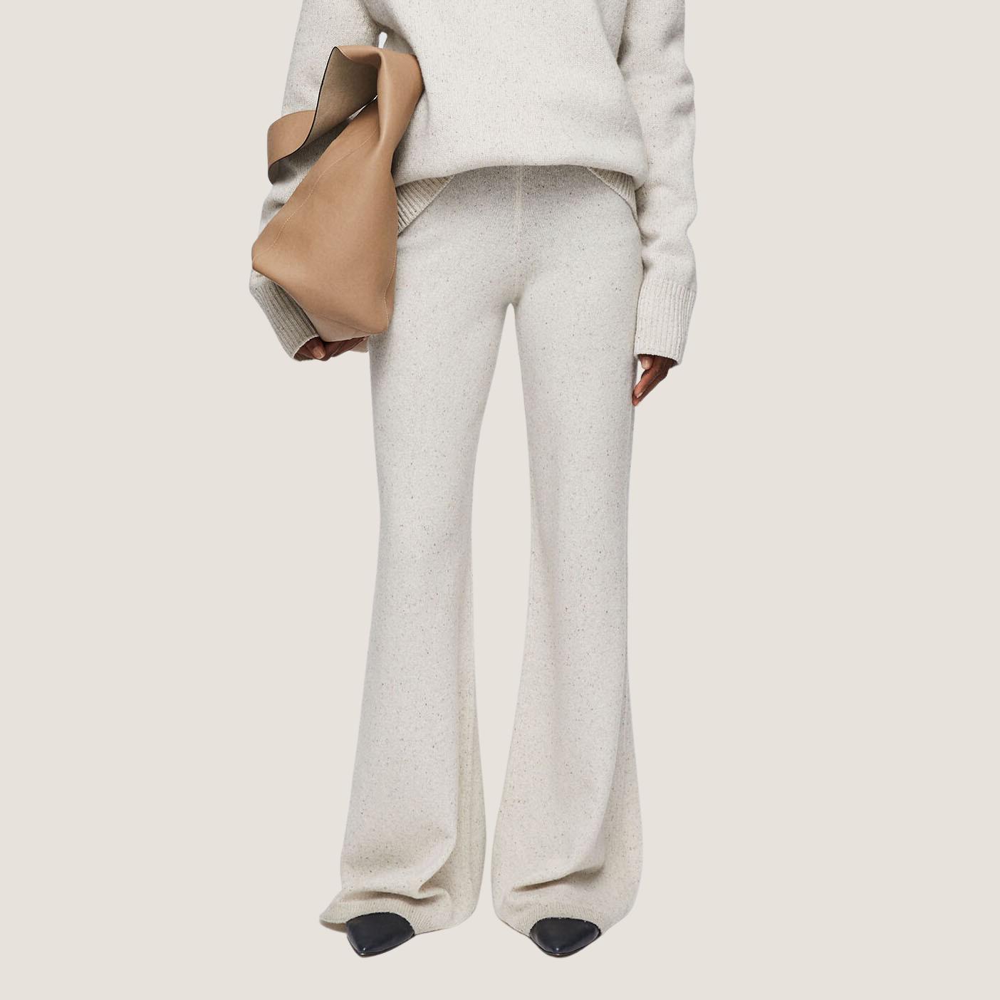 Tweed Knit Pants