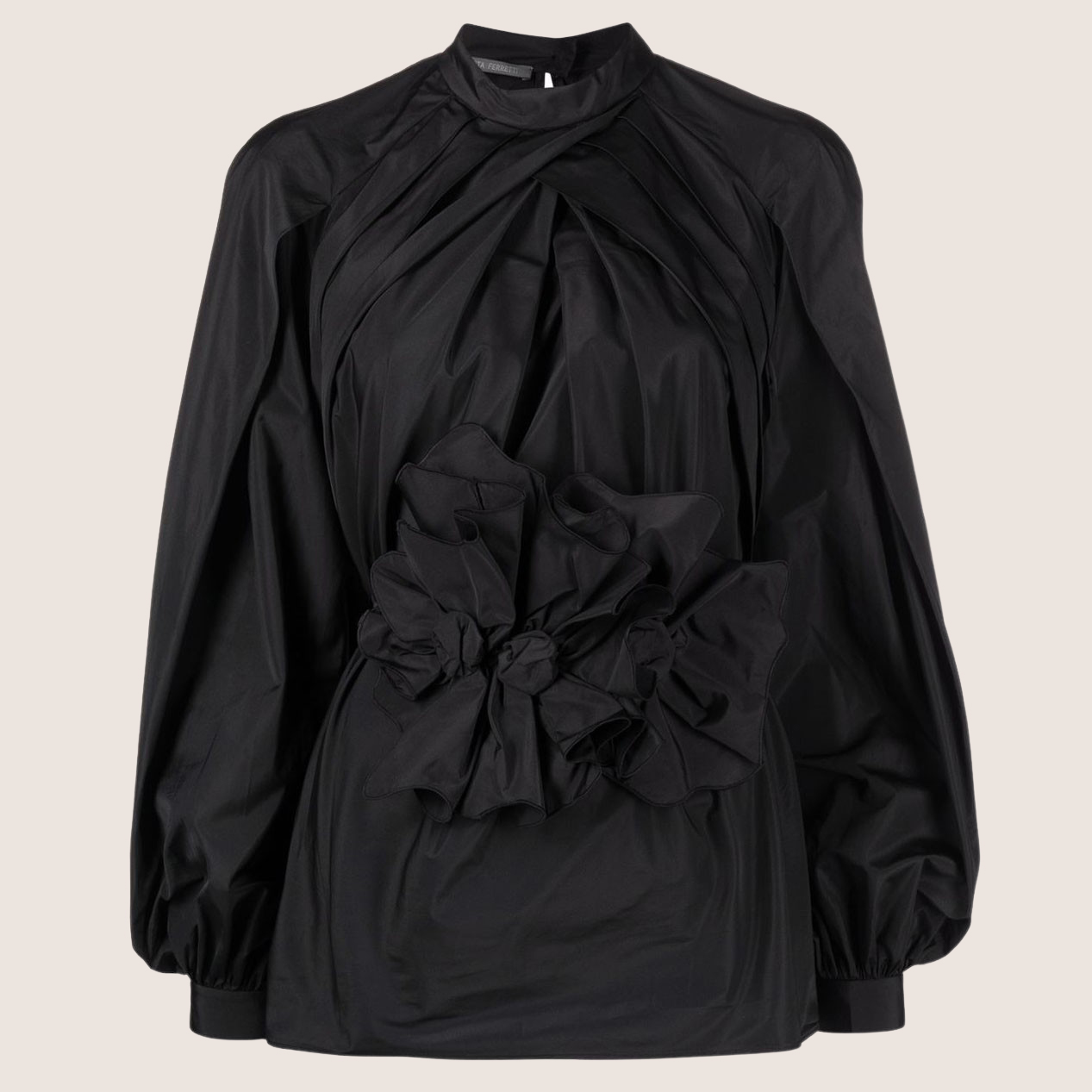 Gathered Front Blouse