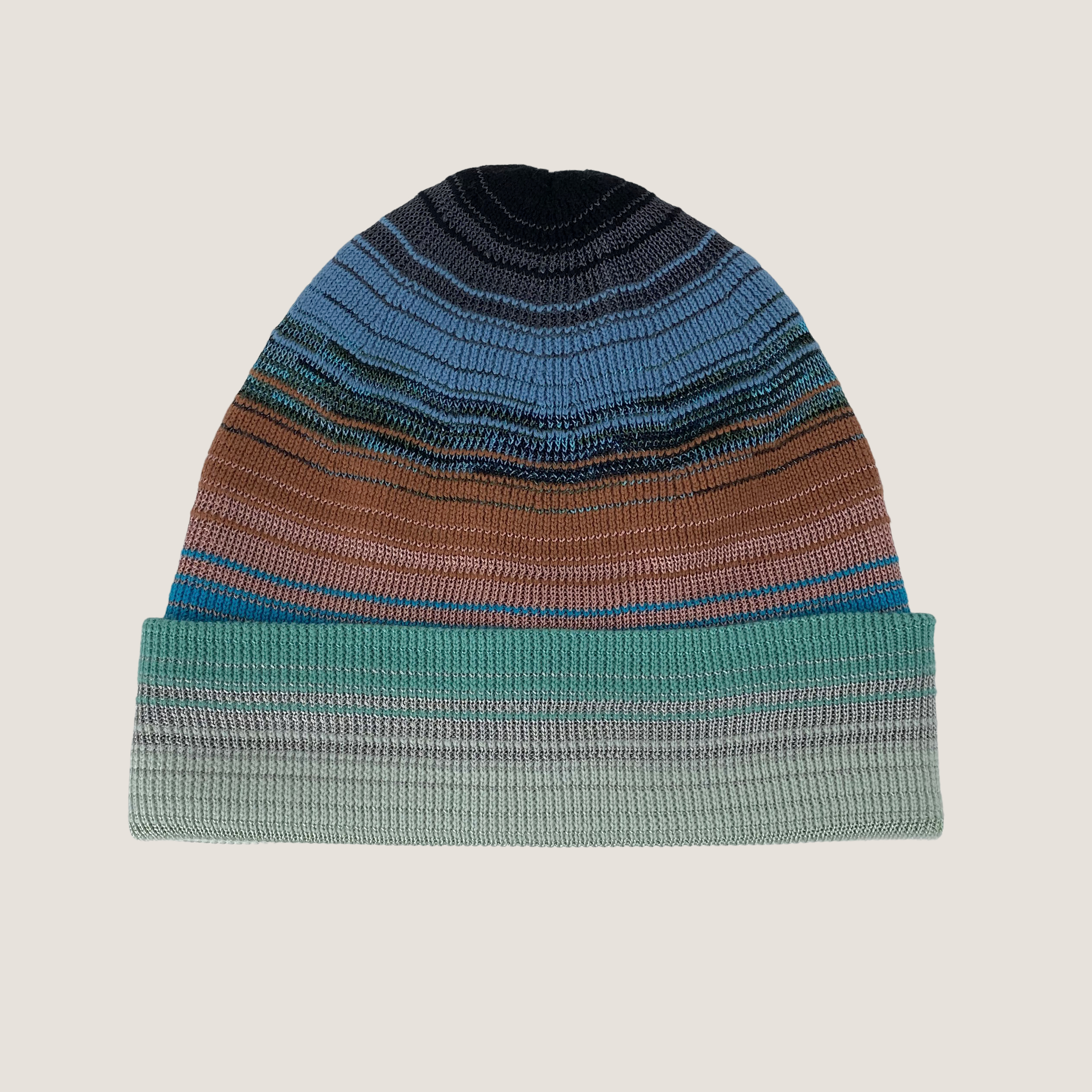 Multi Color Knitted Beanie