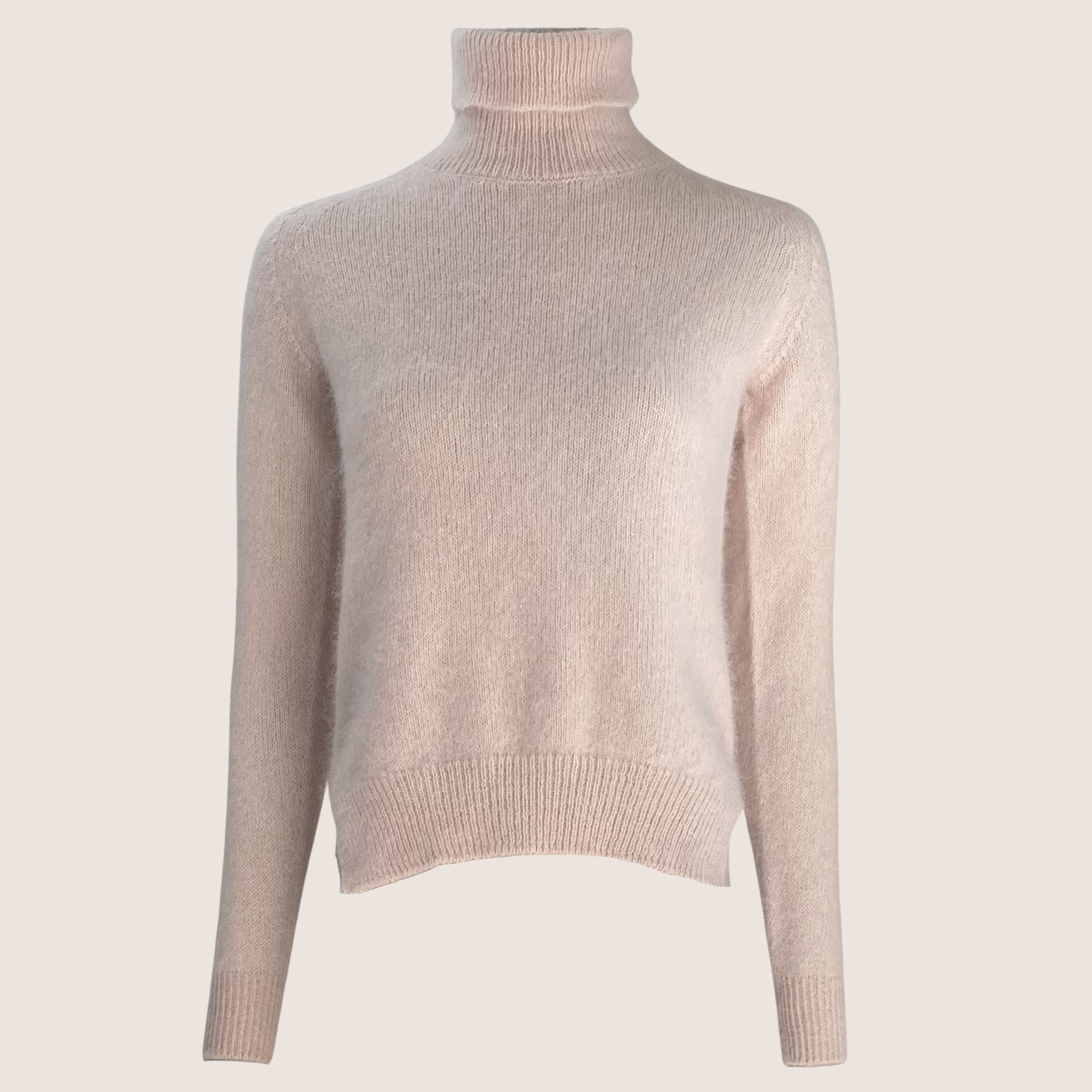 Angora Turtleneck Sweater
