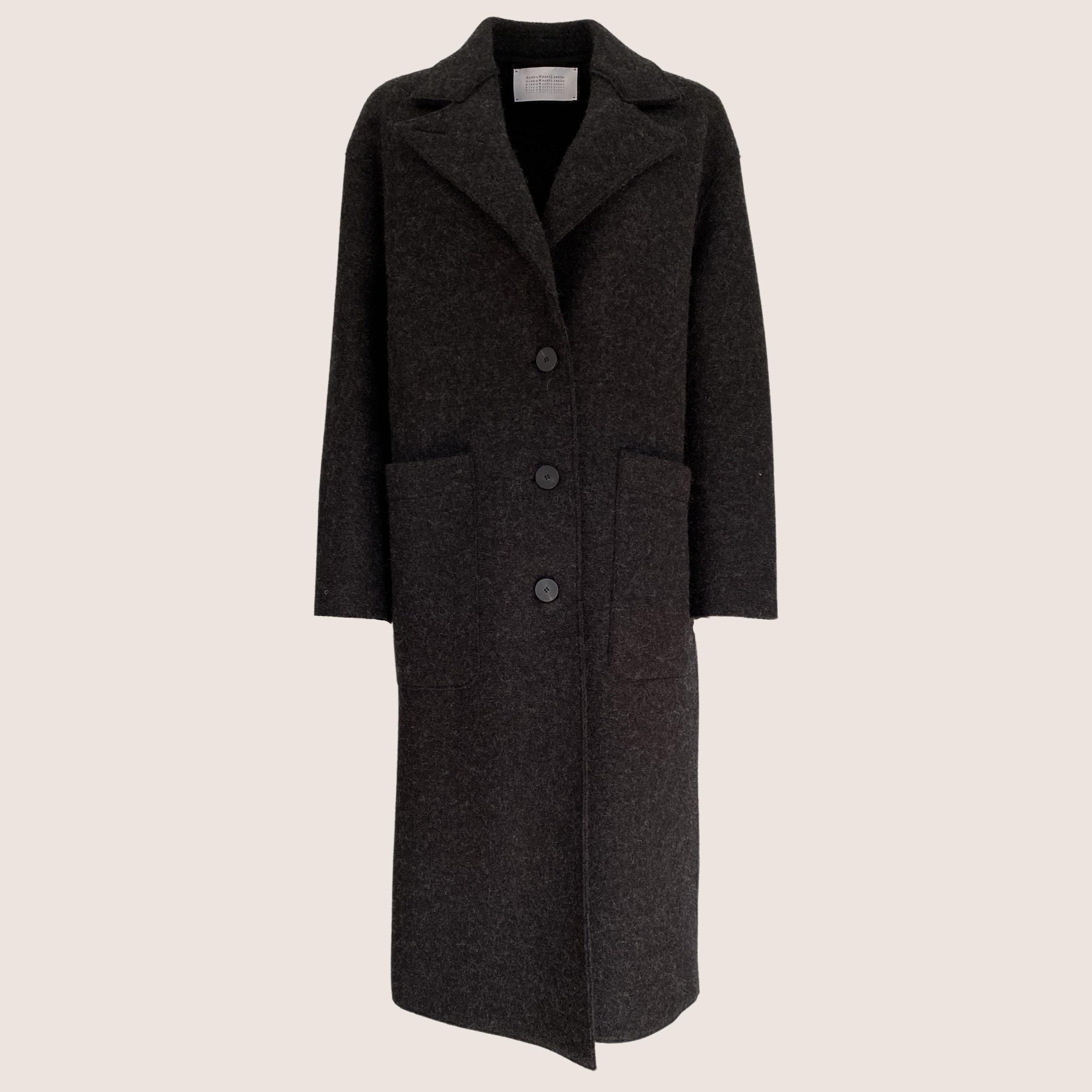 Boiled Wool Great Coat