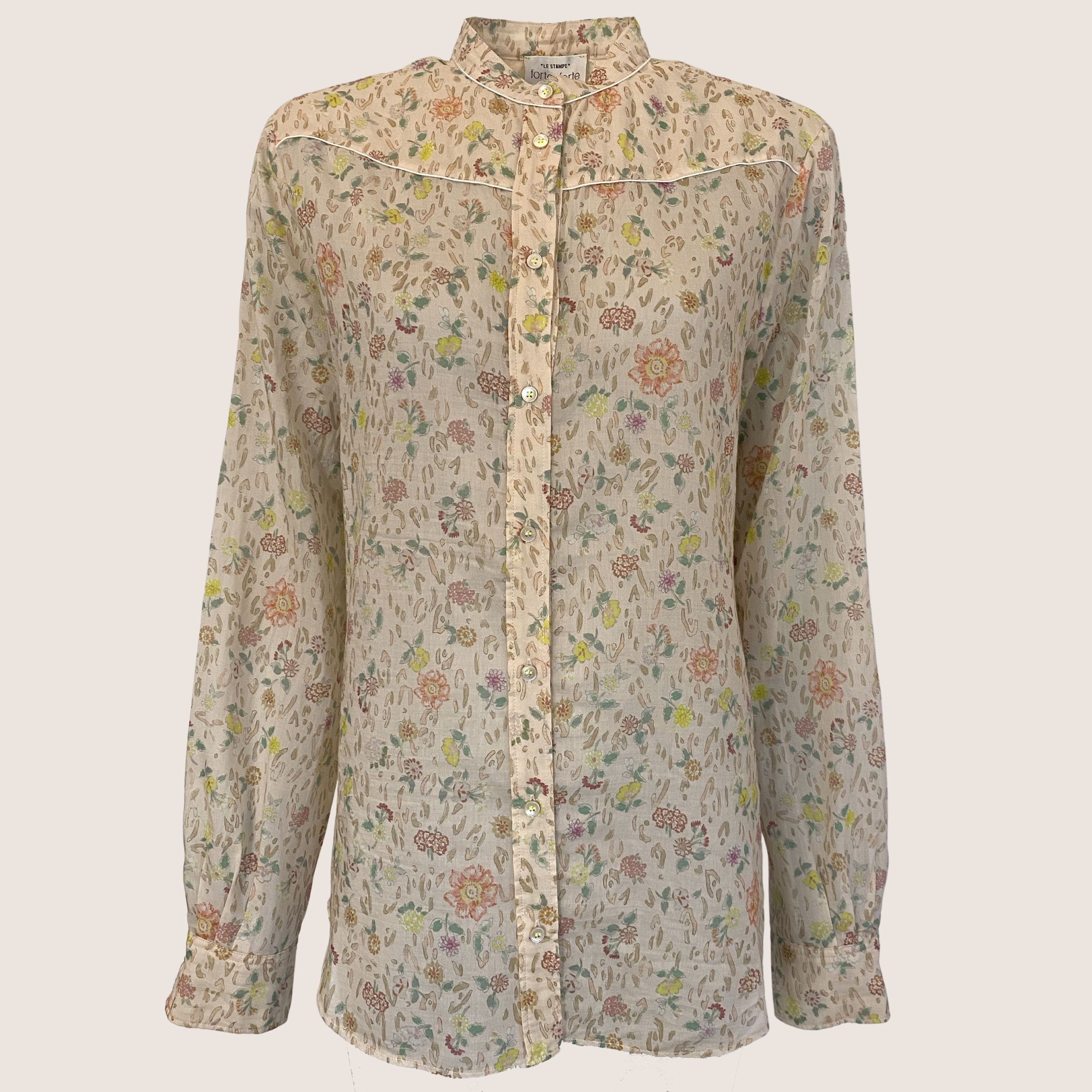 Printet Flower Shirt