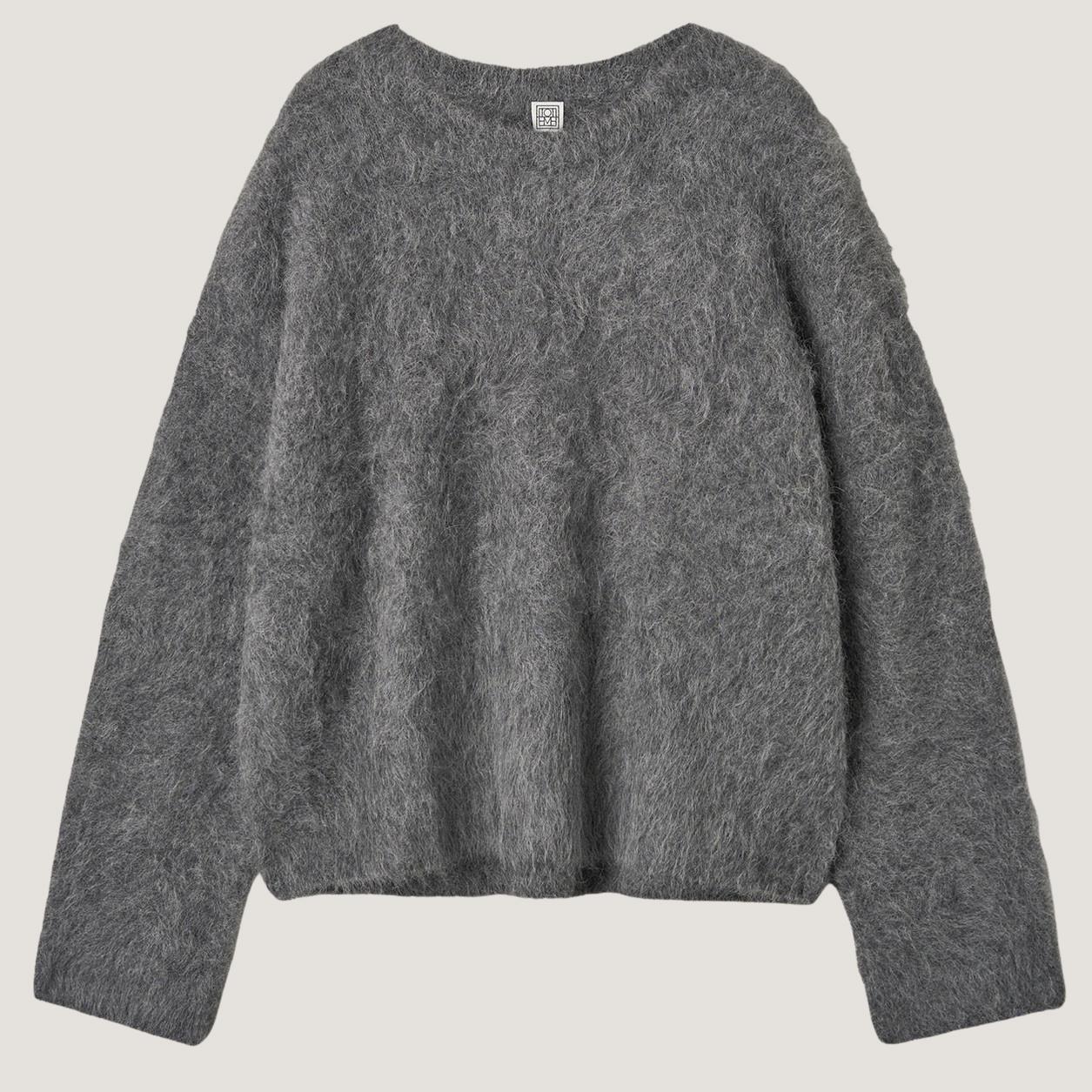 Boxy Alpaca Knit