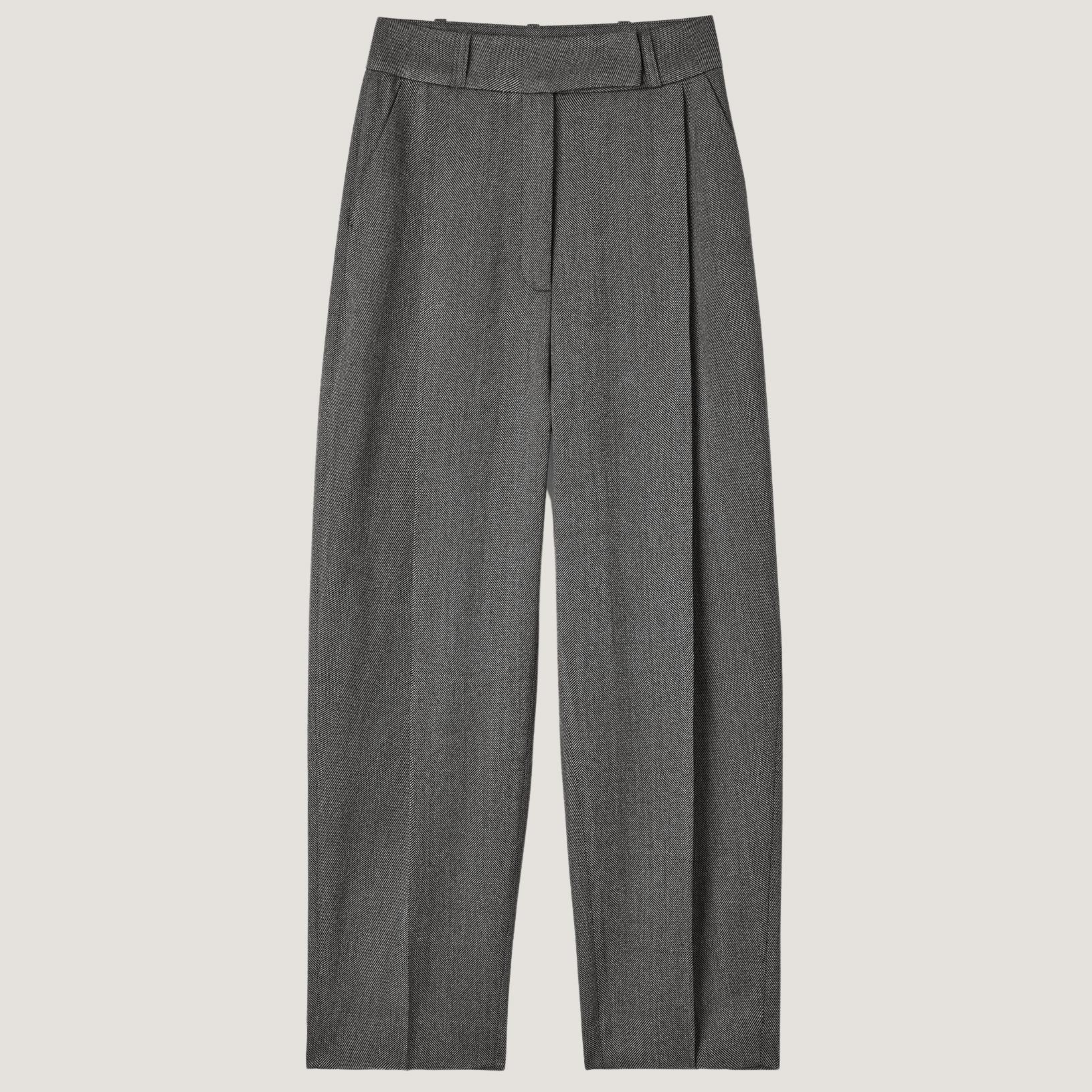 Deep Pleat Trousers