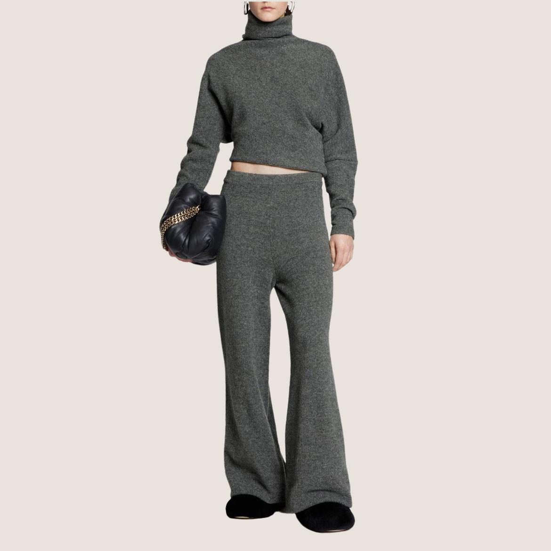 Knit Twisted Turtleneck