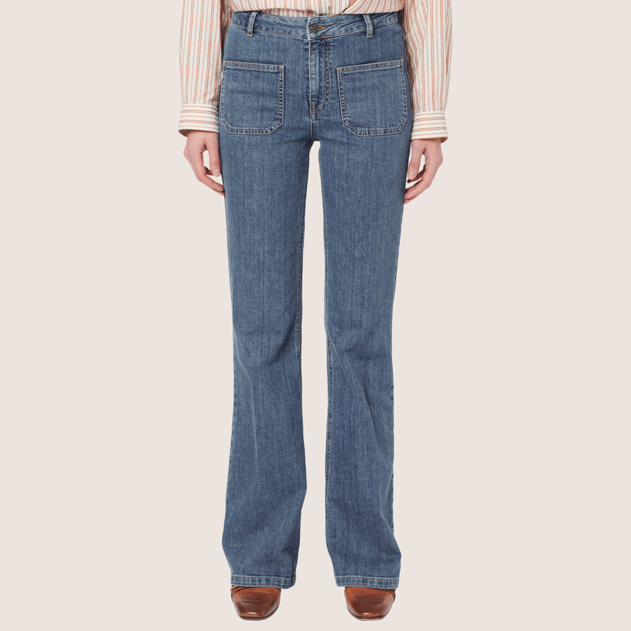Dompay Jeans Flare
