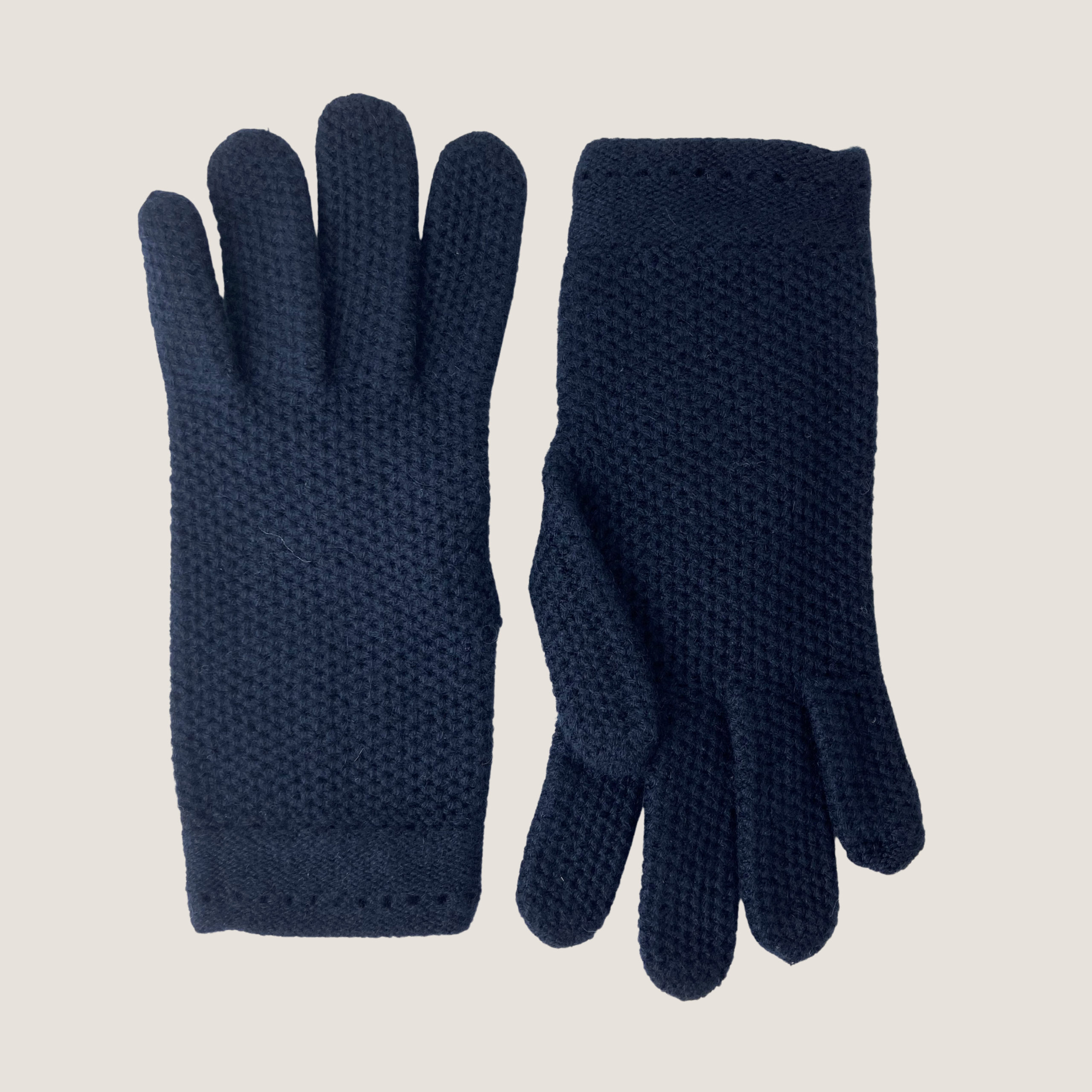 Waffle Knitted Gloves