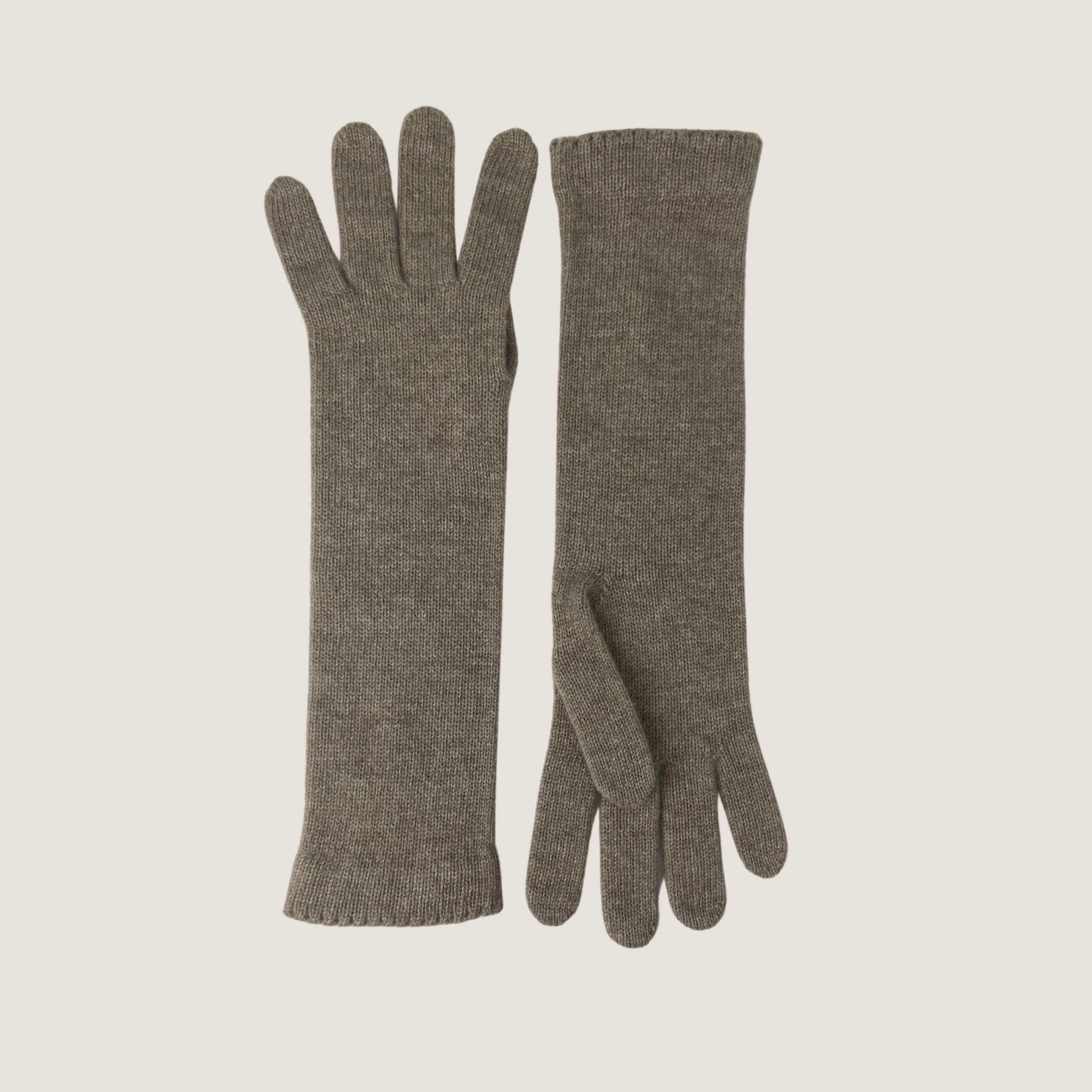 Long Knitted Gloves