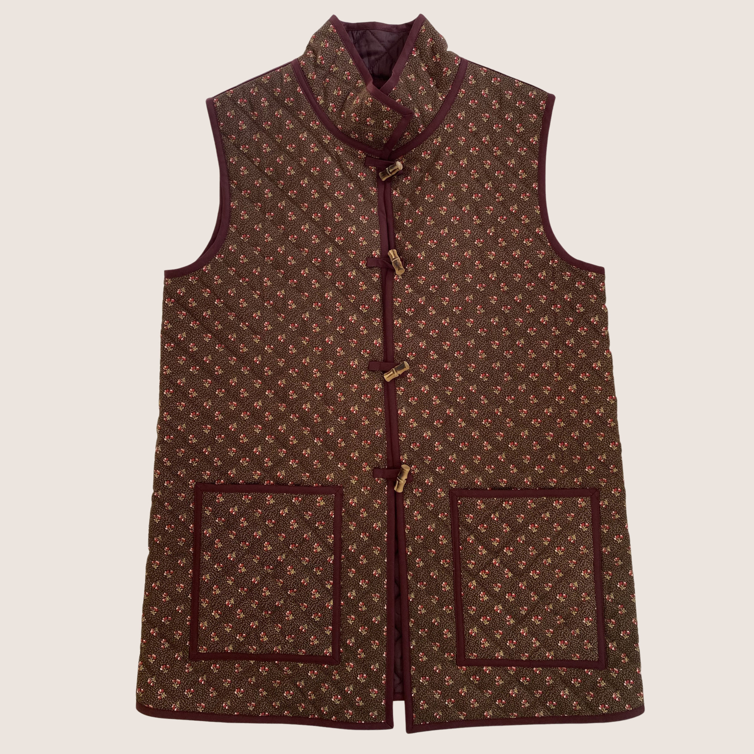 Bespoke Quiltted Waistcoat