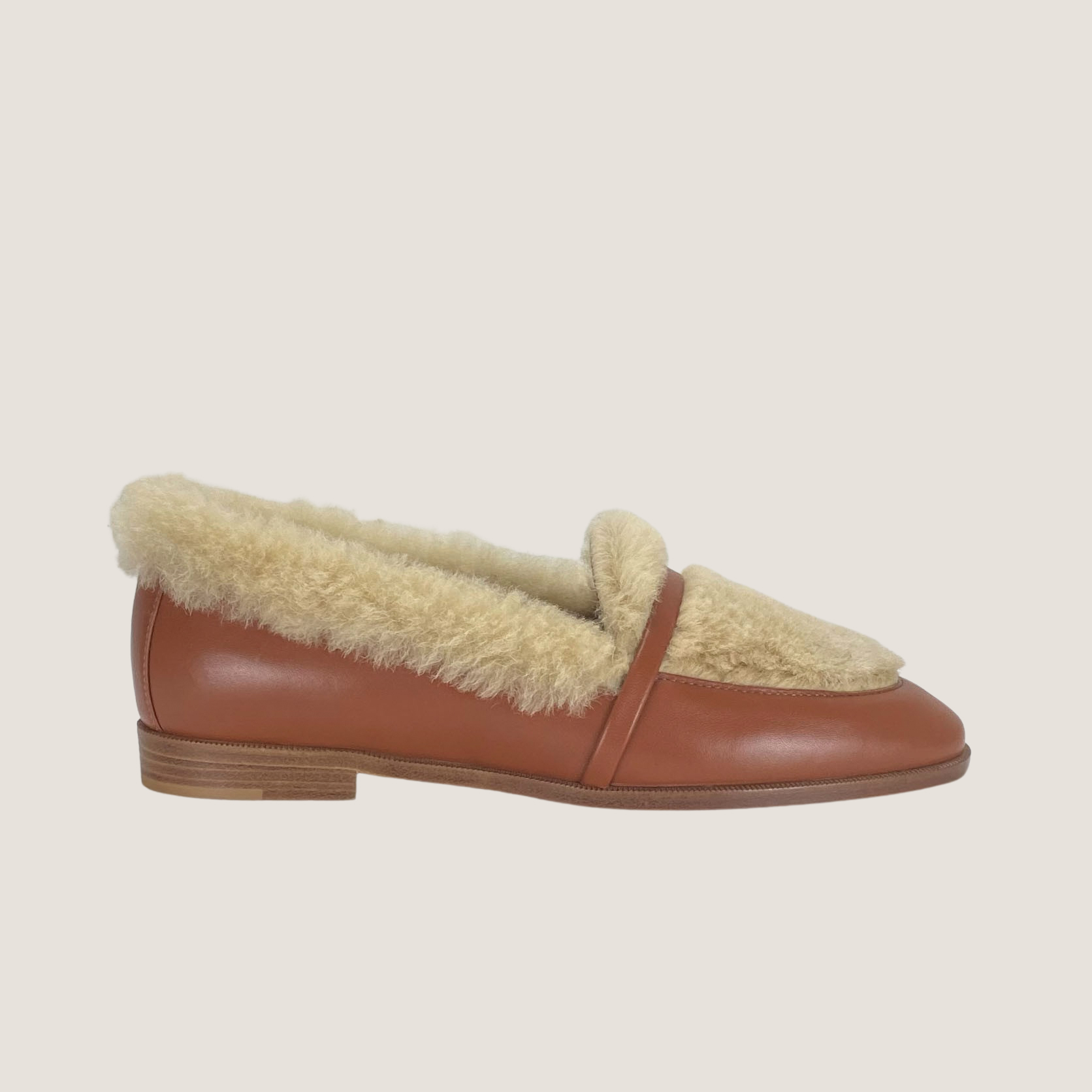 Lia Shearling Loafer