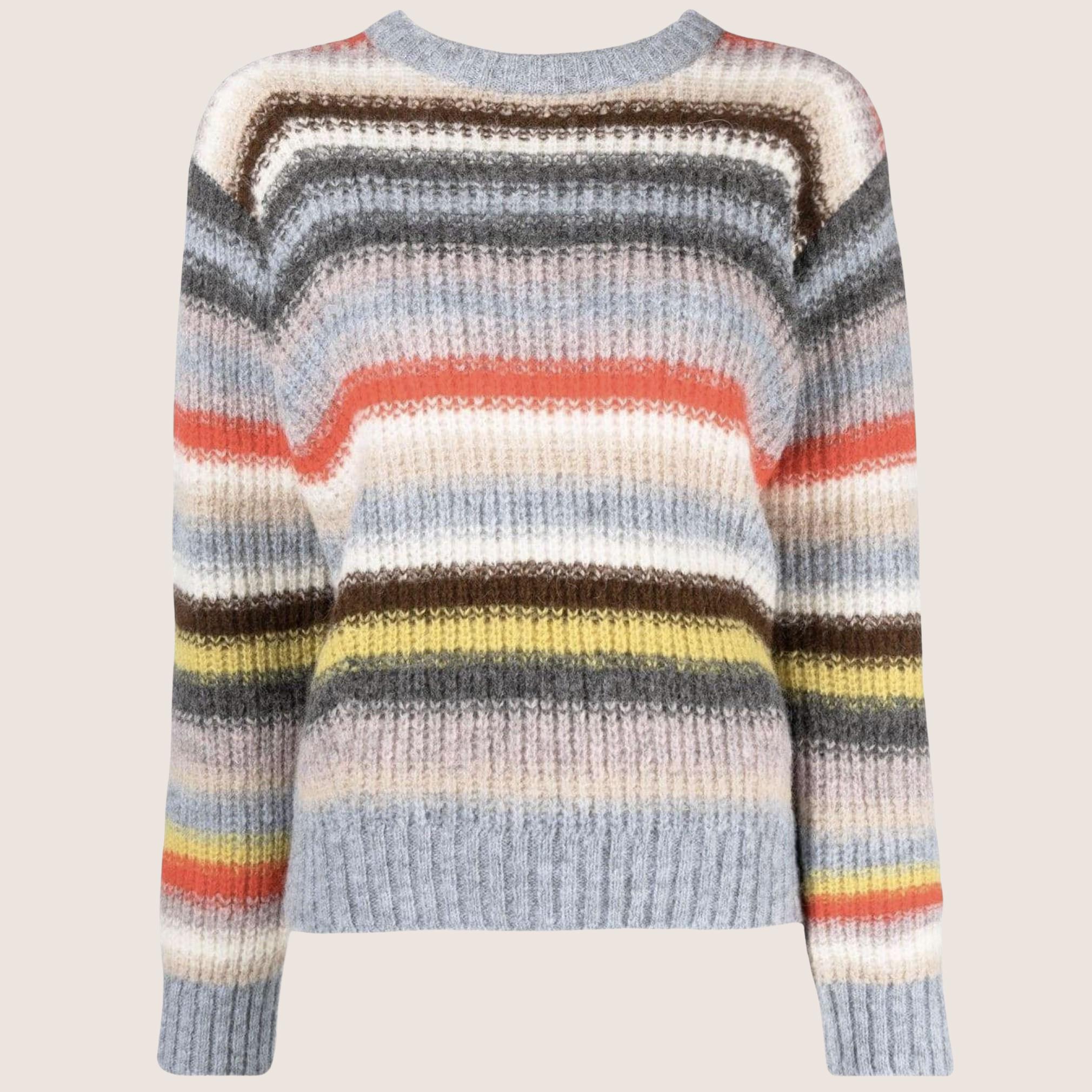 Multi Striped Knit