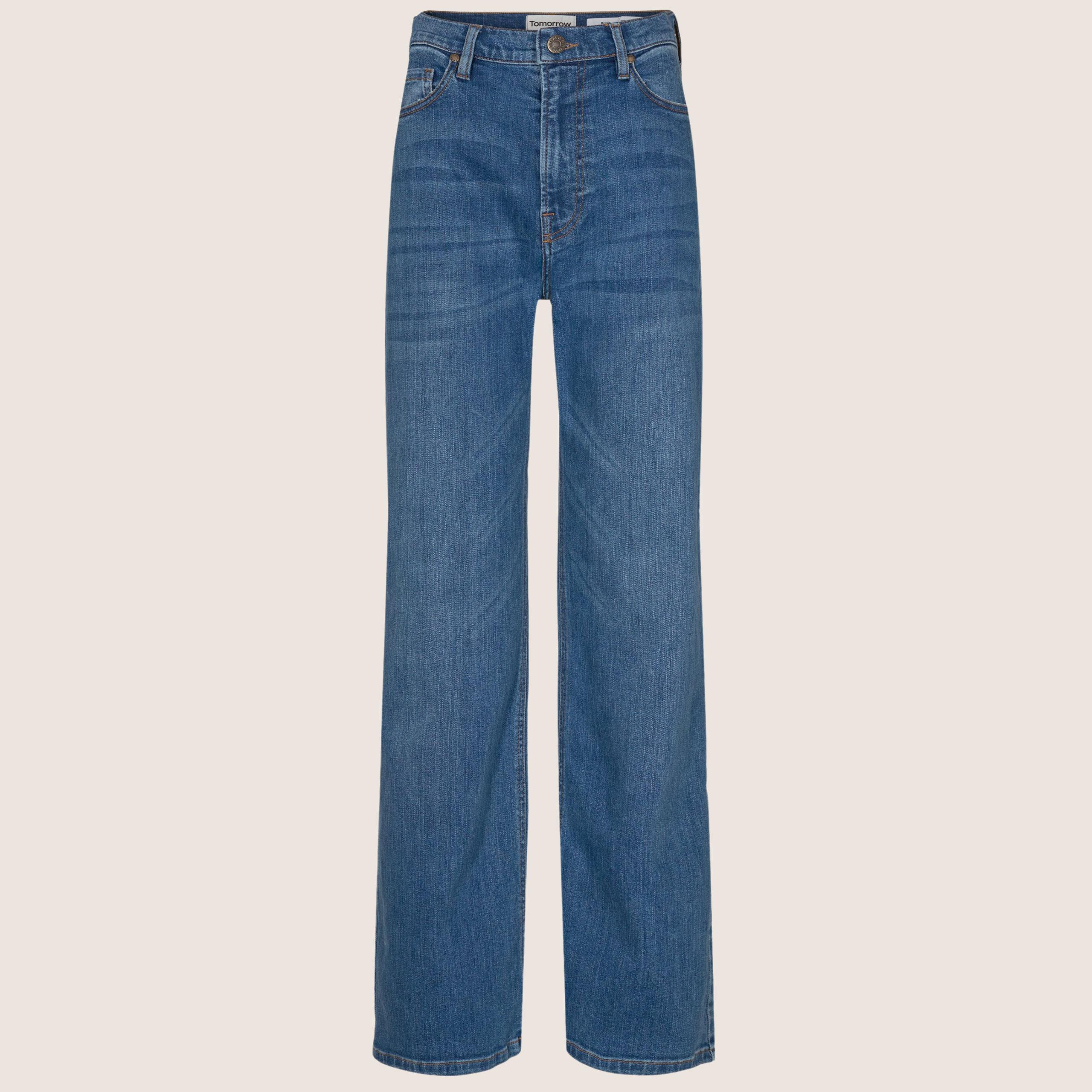 Brown Straight Jeans - Prato