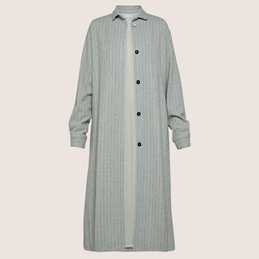 Pinstriped Coat