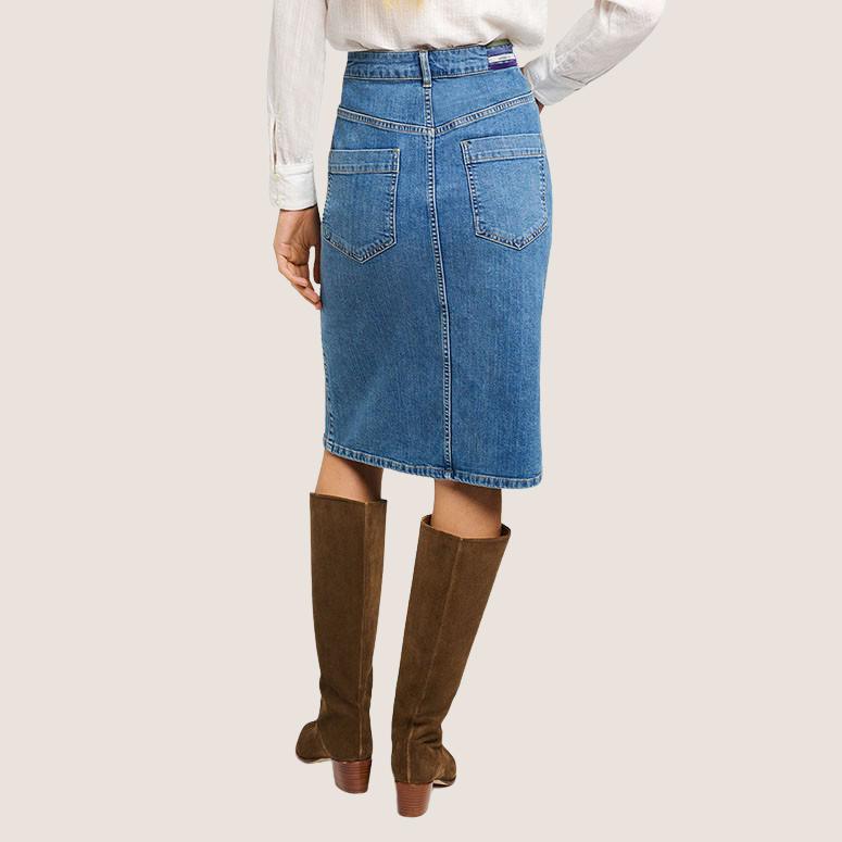 Shana Denim Skirt