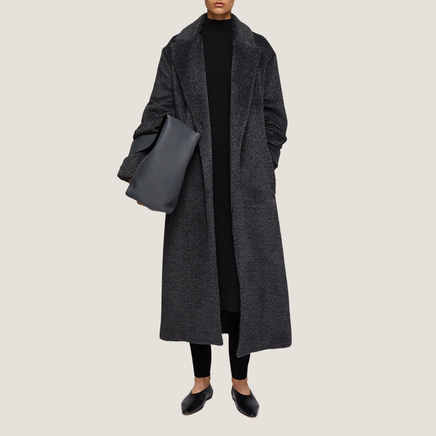 Cayla Texture Wool Coat