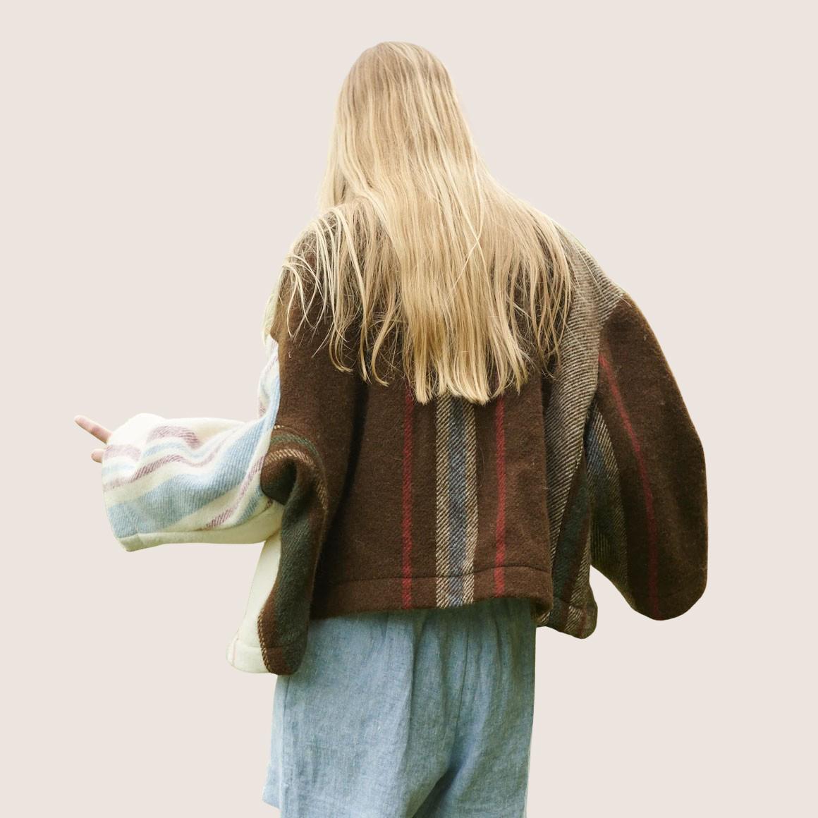 Klippan Wool Blanket Jacket
